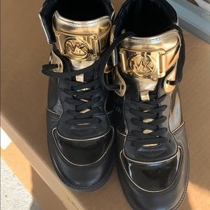 Michael Kors High tops Size 10 BRAND NEW